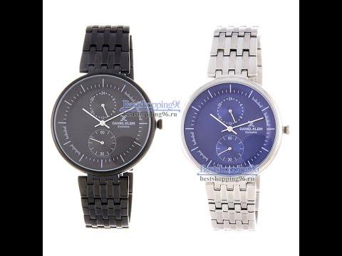Видео обзор наручных часов DANIEL KLEIN DK11900-3 и DK11900-4