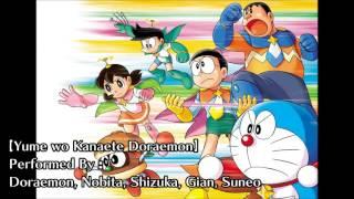 Yume wo Kanaete Doraemon (Characters' Version) - Doraemon Opening Song