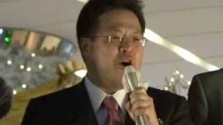 世耕弘成幹事長代理街頭演説東京・有楽町2010.12.7