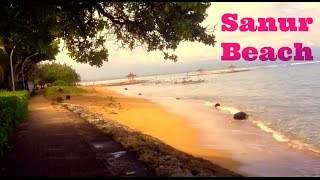 Join my first day in Sanur, Bali, travel tips!