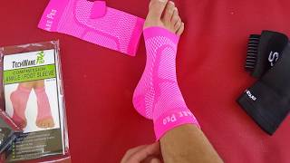 How to pick the BEST ankle brace -  Review of several braces by an Ankle Surgeon in Orange County
