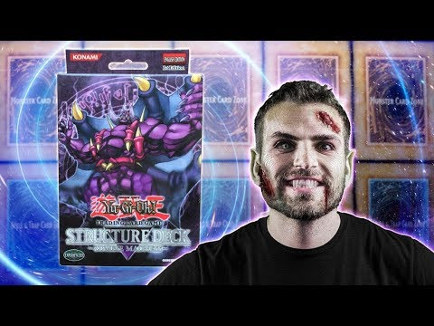 CLASSIC YuGiOh Zombie MADNESS Structure Deck Opening & Review!