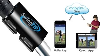 SwingTip Golf Swing Analysis & Coaching System With Real Time Golf Swing Analysis To Mobile Device