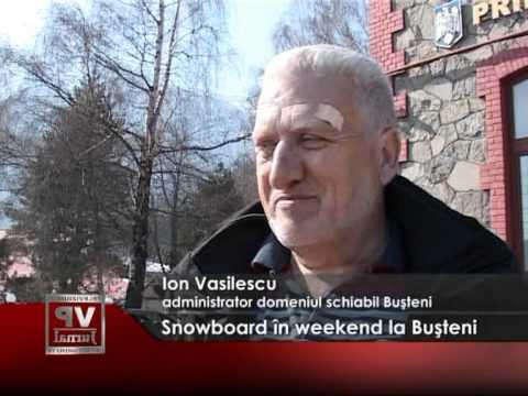 Snowboard, la Buşteni