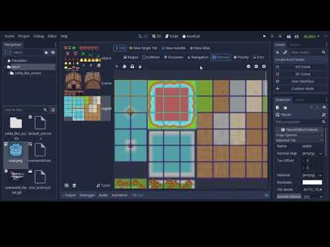 New Tileset Editor in Godot 3 1: Preview and Tutorial