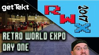 Retro World Expo 2017 Day One Vlog