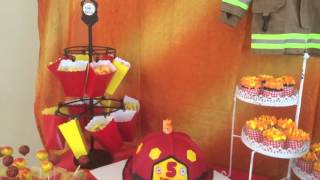Firefighter Kids Party