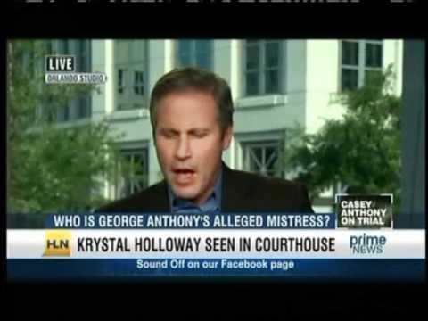 Meg Strickler on HLN Prime News with Vinnie Politan discussing Casey Anthony on June 22, 2011