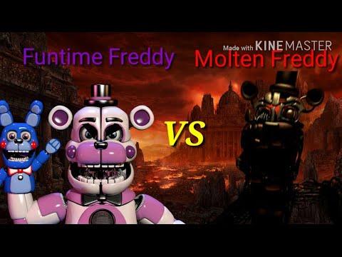 FNAF/SFM] Funtime Freddy vs Molten Freddy (FNAFSL vs FNAF 6
