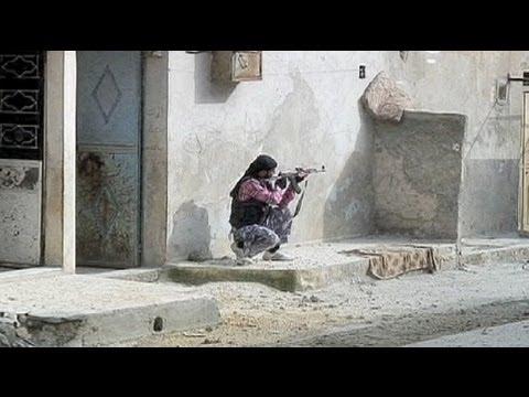 Syrie: Karm Al-Jazmati et ses combattants