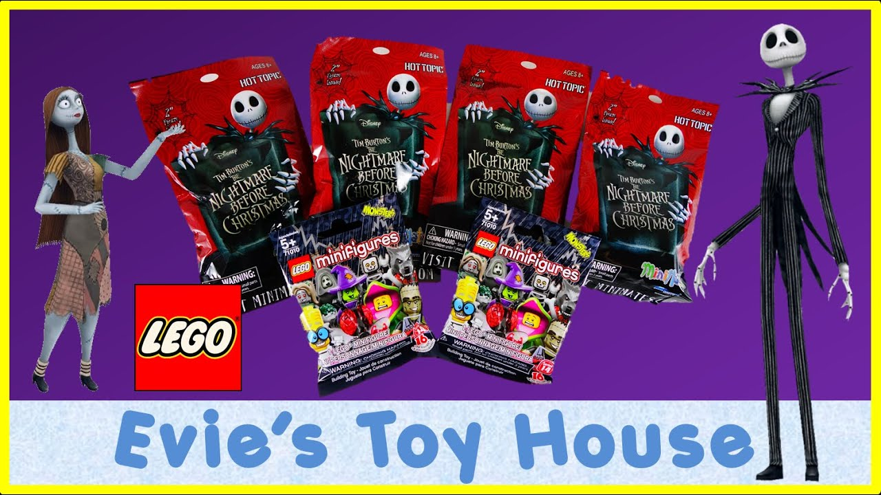 BLIND BAGS - Nightmare Before Christmas MiniMates & LEGO Monster Minifigure | Evies Toy House