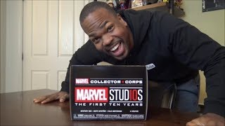 Funko Marvel Collector Corps, Marvel Studios 10 - UNBOXING!!!