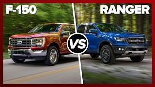 Get NERDY with the 2021 Ford F-150 vs. Ranger by Roadshow