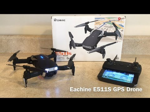 Eachine E511S GPS Drone Review