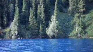 Озеро Сары Челек на карте