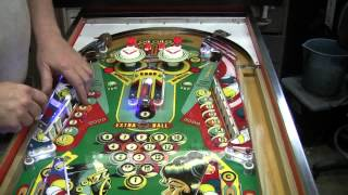 #222 Gottlieb's PINBALL POOL Pinball Machine With A Neat Drop Target Feature! TNT Amusements
