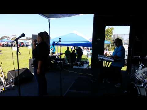 This is a performance of me singing outside at a Fair in San Diego, CA