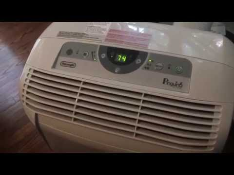 Delonghi portable air conditioner penguin pac cn120E Review