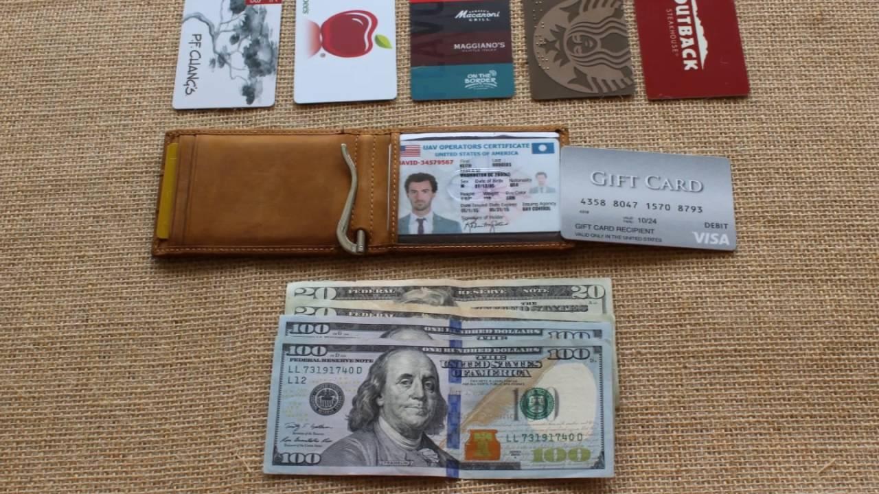 1.0 Wallet // Texas Brown video thumbnail