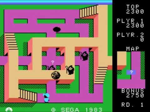 Sindbad Mystery (Japan, Europe) Sega - SG-1000 INGAME