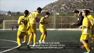 preview picture of video 'HERITAGE VS ΕΝΥ ΔΙΓΕΝΗΣ ΥΨΩΝΑ U13 CYPRUS CUP 2015'