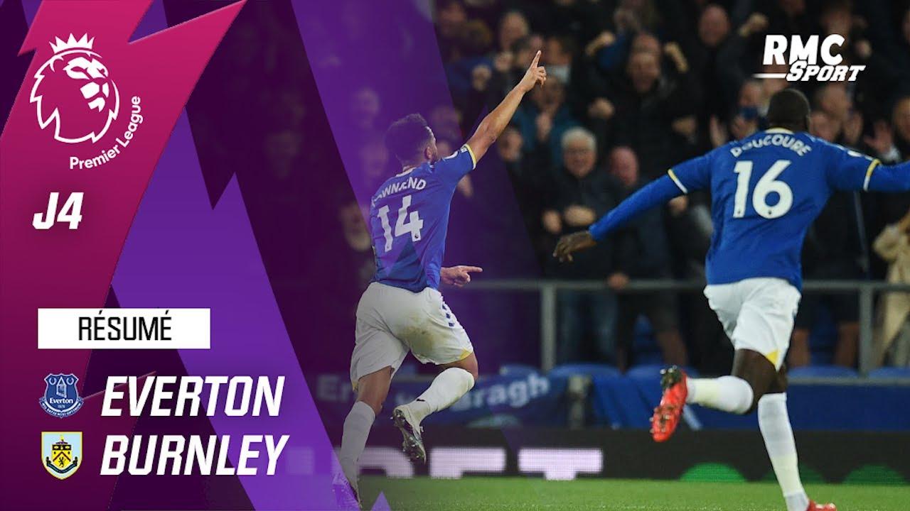 Résumé : Everton 3-1 Burnley - Premier League (J4)