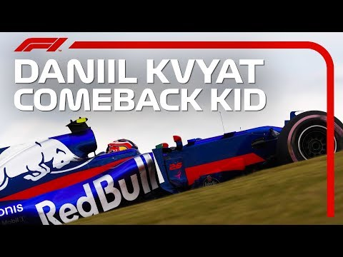 COMEBACK KID: Daniil Kvyat On His 2019 Return With Toro Rosso