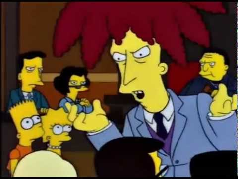 You Can't Handle The Truth! (The Simpsons)