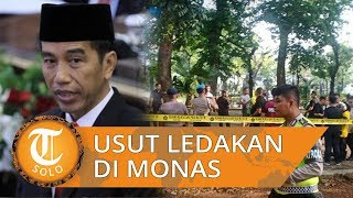 Jokowi Minta Polisi Usut Ledakan Granat Asap di Monas