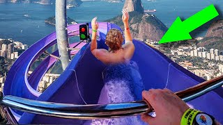 10 Crazy FORBIDDEN Waterslides You CAN'T Ride!