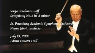 Rachmaninoff: Symphony No.3 in A minor - N. Järvi / Saint Petersburg Academic Symphony Orchestra