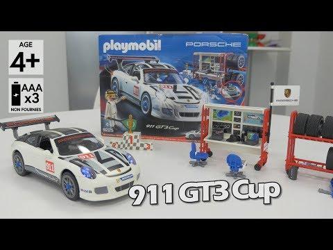 Playmobil Porsche 911 GT3 cup (9225) - Démo en français HD FR