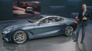 BMW Group Design VP on the 8 Series Concept