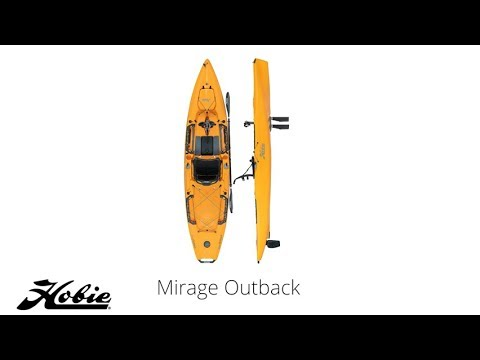 New Hobie Mirage Outback Kayak 2019