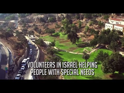 Volunteers in Israel