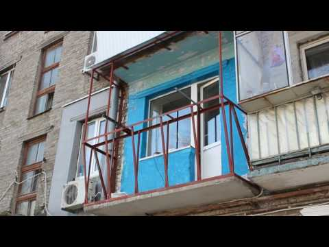 Новый ремонт балкона на Петровского