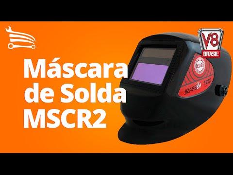 Máscara de Solda Automática CR2 DIN 9 a 13 - Video