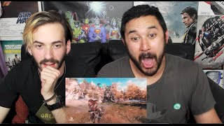 HORIZON ZERO DAWN Gameplay Trailer  E3 2015 REACTION & REVIEW