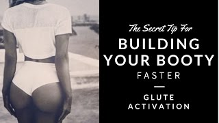 Best tip for building your bum faster - Real time workout