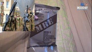 Сухпай Армии США вар. 2 ИРП MRE MENU 2 BEEF SHREDDED IN BARBECUE SAUCE