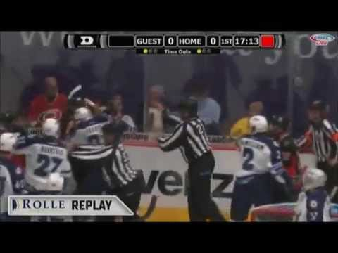 Kyle Hagel vs. Darren Kramer