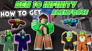Getting New Omnitrix (Alien Force) Fast - Ben 10 Infinity - Tips, Gameplay