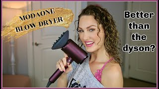 TRYING THE TINECO MODAONE BLOW DRYER   The Glam Belle