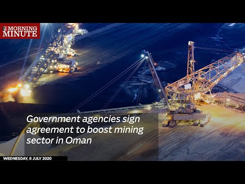 Government agencies sign agreement to boost mining sector in Oman