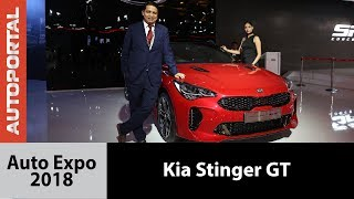 Kia Stinger GT at Auto Expo 2018 - Autoportal