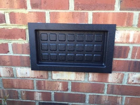 Recessed Vent Cover – How To Install