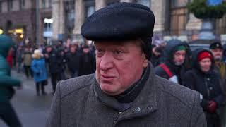 Как МихоМайдан свободу Саакашвили и тюрьму для Порошенко требовал. Видеохроника одного дня Страна.ua