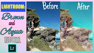 How To Edit BROWN And AQUA   Lightroom Mobile Tutorial