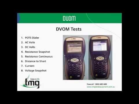 Video: JDSU HST3000 Method of Procedure (Copper) - TMG Test Equipment
