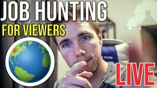 🔴 Job Hunting With Viewers | @joshuafluke on socials